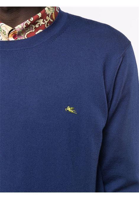 Maglione blu ETRO | MAGLIONE | 1M5009751202