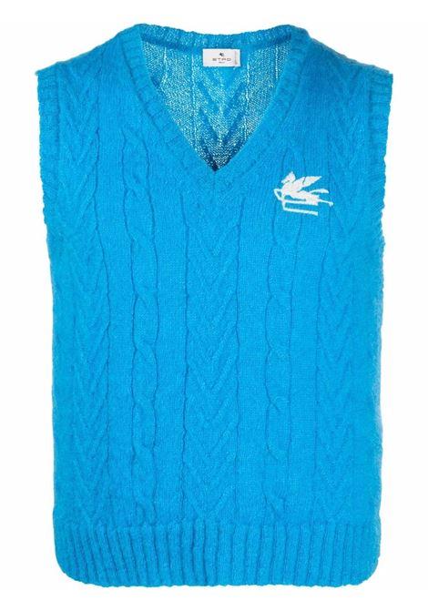 Gilet blu ETRO | GILET | 1M5039792250
