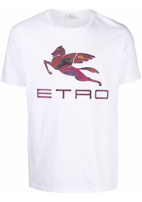 T-shirt bianca ETRO | T-SHIRT | 1Y0209709990