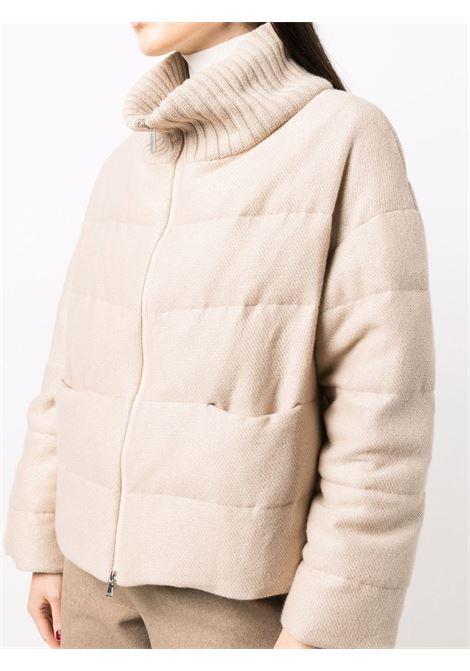 Beige jacket FABIANA FILIPPI | JACKETS | CTD221W238F543VR2