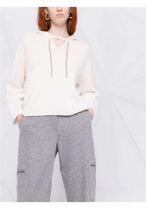 Grey trousers FABIANA FILIPPI | TROUSERS | PAD221W326D1968132
