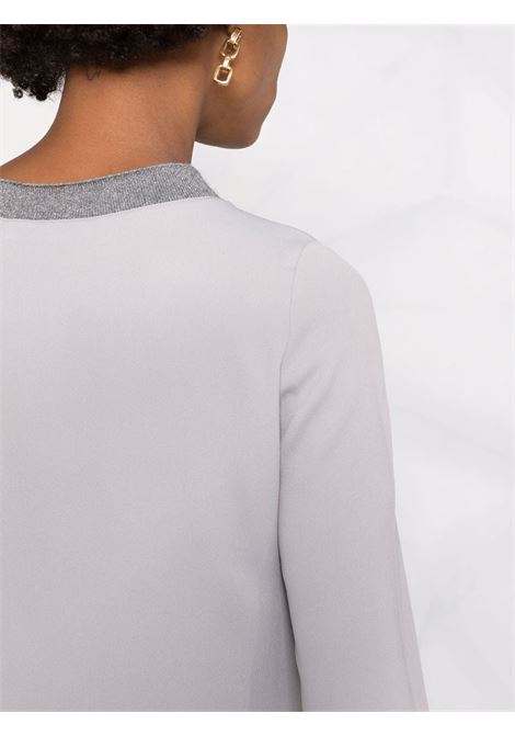 Grey blouse FABIANA FILIPPI | BLOUSE | TPD221W276F5728161