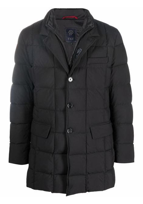 Black padded  jacket FAY   NAM37430530PGQB999