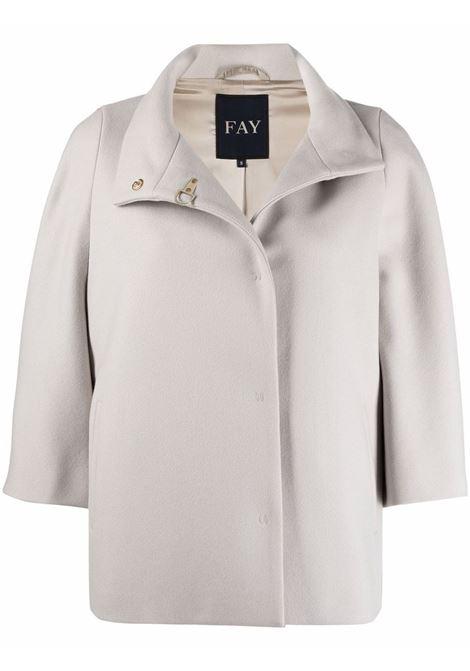 Grey jacket FAY | JACKETS | NAW12434490SGLB204