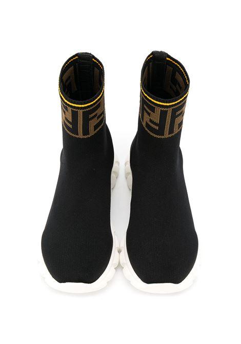 Sneakers nera FENDI KIDS | SNEAKERS | JMR322A62LF15GD