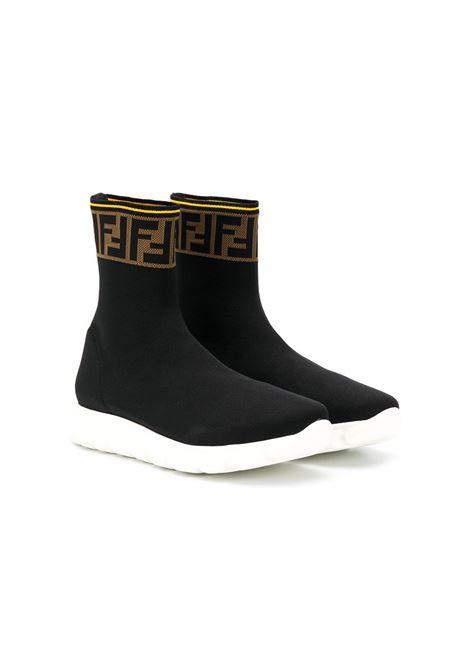 Sneakers nera FENDI KIDS | JMR322TA62LF15GD