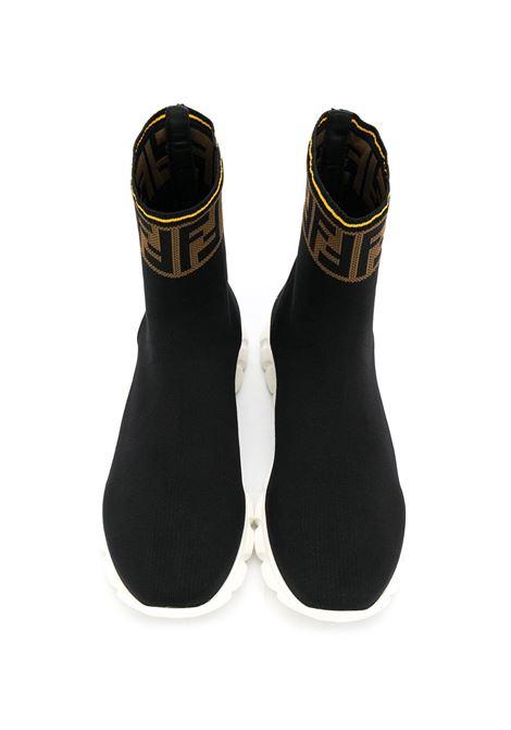 Sneakers nera FENDI KIDS | SNEAKERS | JMR322TA62LF15GD