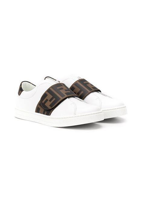 Sneakers bianca FENDI KIDS | JMR325A7N4F0C1A