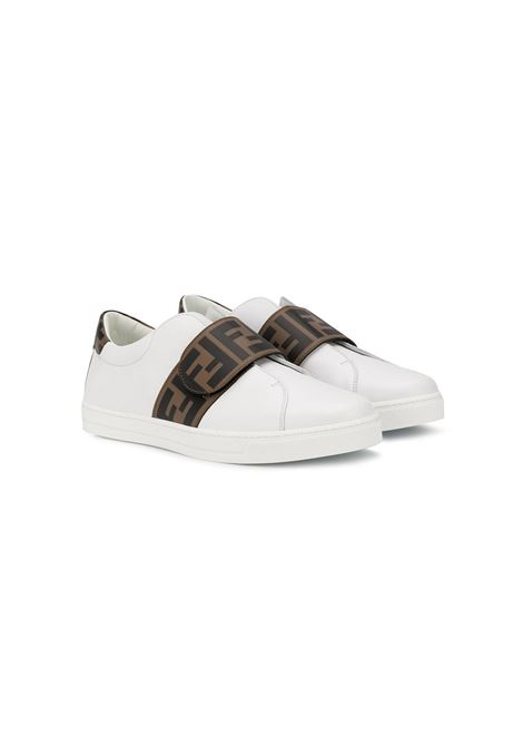 Sneakers bianca FENDI KIDS | JMR325TA7N4F0C1A