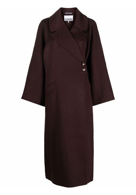 Cappotto nero GANNI | F6431190