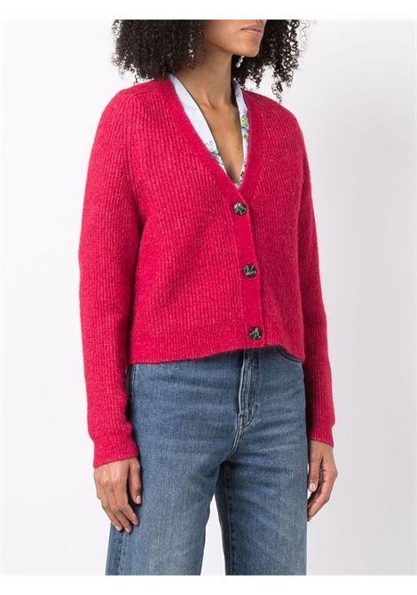 Cardigan rosso GANNI | K1601472