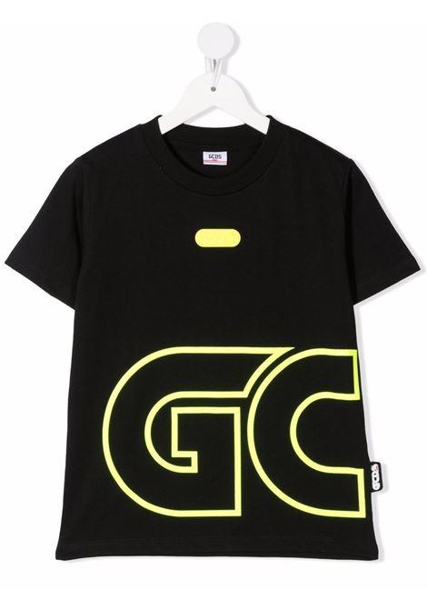 T-shirt nero GCDS KIDS | 028477110