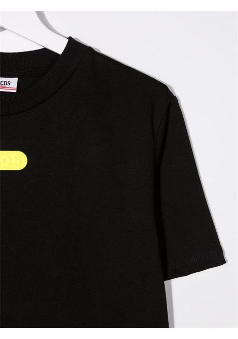 T-shirt nera GCDS KIDS | 028477T110