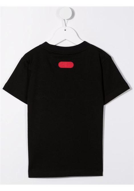 T-shirt nera GCDS KIDS | 028491110