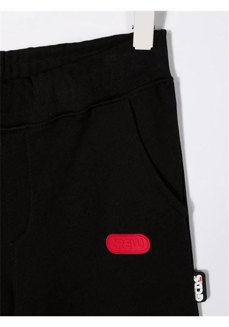 Pantalone nero GCDS KIDS | 028494T110