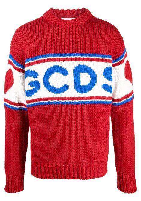 Maglione rosso GCDS | CC94M02116003