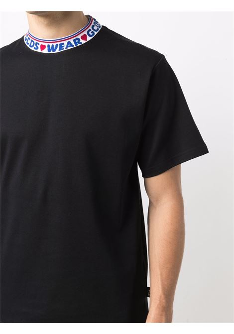Black t-shirt GCDS | T-SHIRT | CC94M02150402
