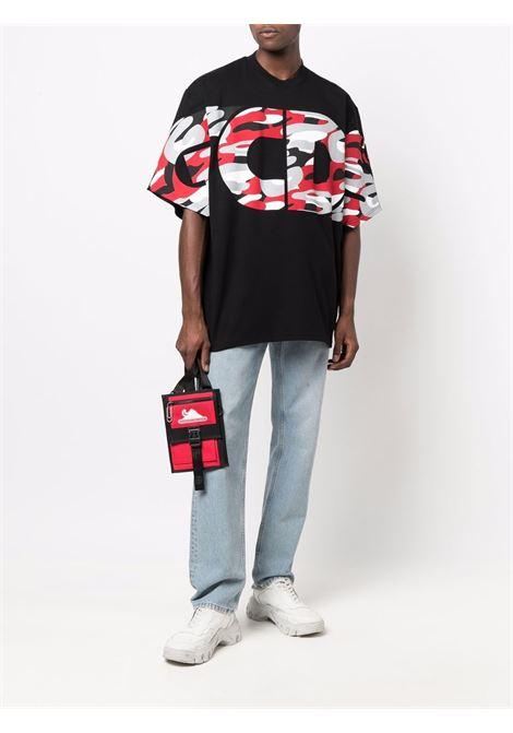 Black t-shirt GCDS | T-SHIRT | CC94M02150602