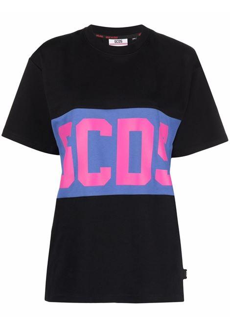 T-shirt nera GCDS | CC94M02153202