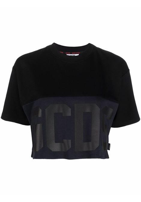 T-shirt nera GCDS   CC94W02050302