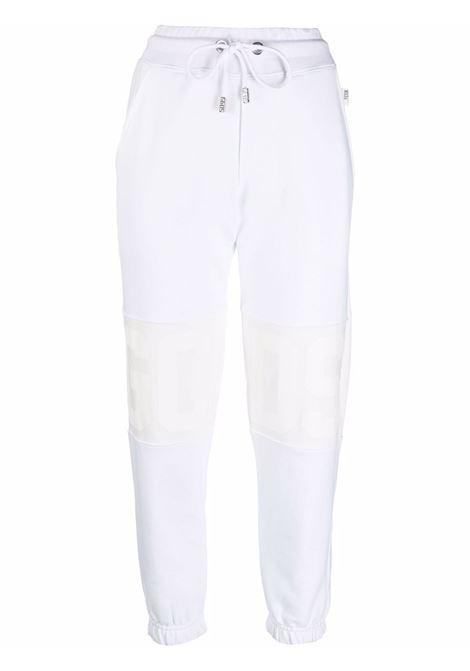 White track pants GCDS | CC94W03060001