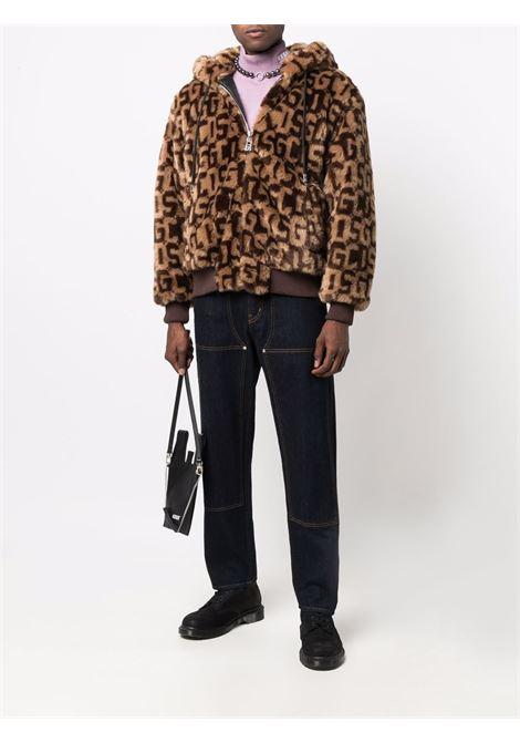 Brown jacket GCDS | JACKETS | FW22M04010904