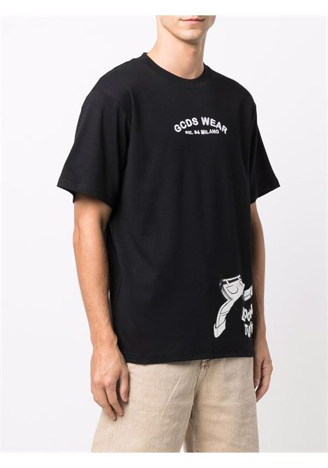 Black t-shirt GCDS | T-SHIRT | WB22M02005102