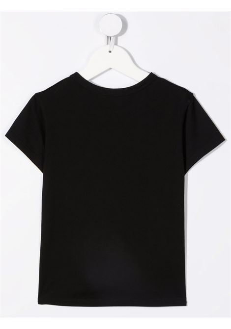 T-shirt nera GIVENCHY KIDS | T-SHIRT | H1521409B