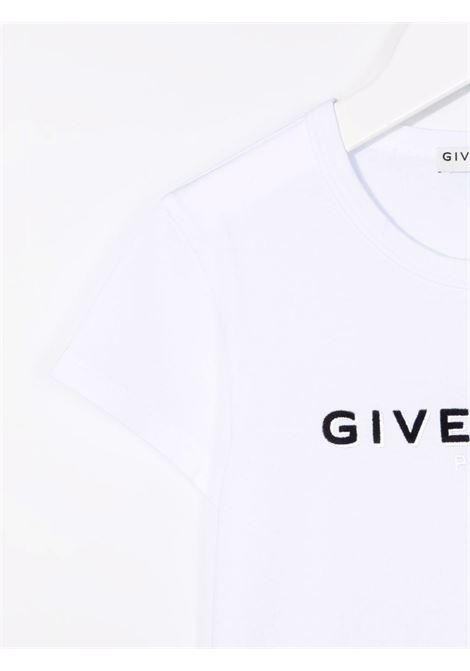 T-shirt bianca GIVENCHY KIDS | T-SHIRT | H1521410B