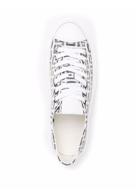 White/black sneakers GIVENCHY | SNEAKERS | BE001NE10N004
