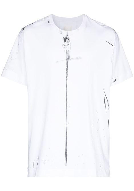 T-shirt bianca GIVENCHY | BM712W3Y6B100