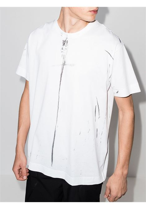 White t-shirt GIVENCHY | T-SHIRT | BM712W3Y6B100