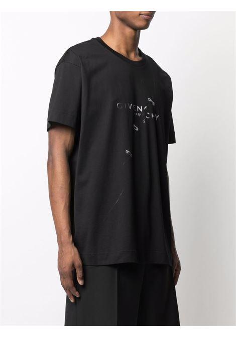 Black t-shirt GIVENCHY | T-SHIRT | BM71333Y6B001