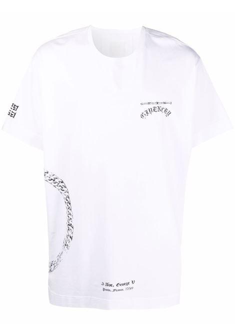 T-shirt bianca GIVENCHY | BM714Y3Y6B100