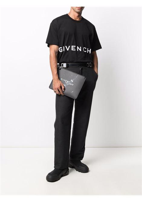 T-shirt nera GIVENCHY   T-SHIRT   BM71543Y6B001