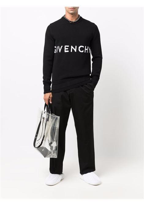Maglione bianco/nero GIVENCHY | BM90G9401M001