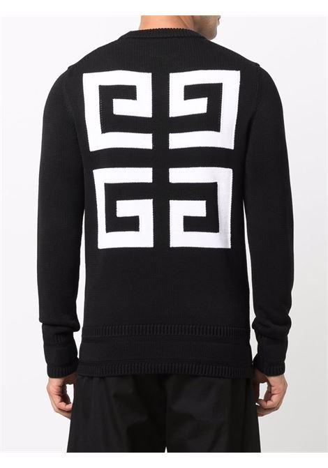 Maglione bianco/nero GIVENCHY   FELPE   BM90G9401M001