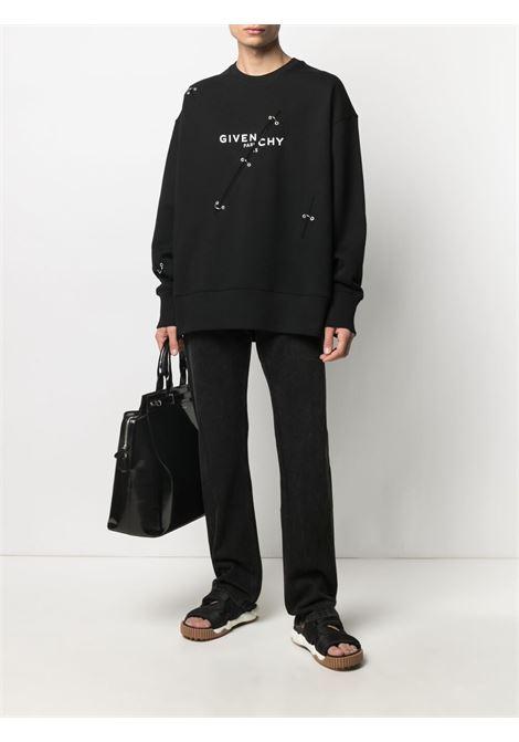 Black sweatshirt GIVENCHY | SWEATSHIRTS | BMJ0B83Y69001
