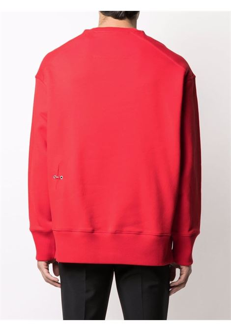 Red sweatshirt GIVENCHY | SWEATSHIRTS | BMJ0B83Y69600