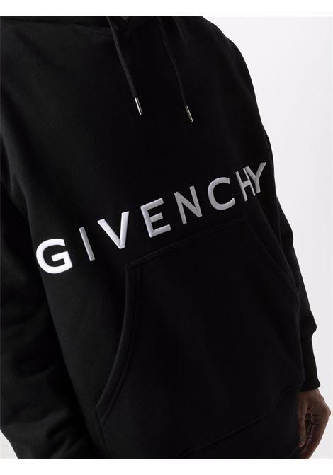 Black sweatshirt GIVENCHY | SWEATSHIRTS | BMJ0C93Y69001