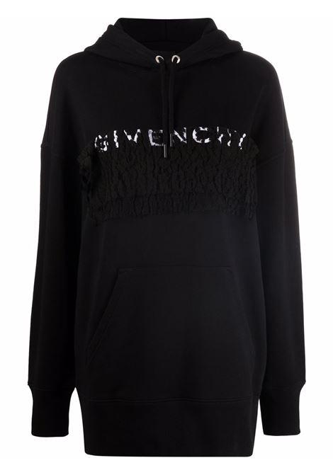 Black sweatshirt GIVENCHY | SWEATSHIRTS | BWJ01ZG0SS001