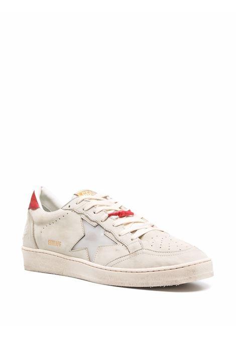 Beige/red sneakers GOLDEN GOOSE   GMF00117F00187815308