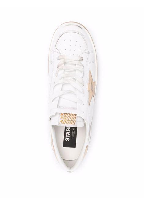Sneaker bianca/oro GOLDEN GOOSE | SNEAKERS | GMF00128F00218710272