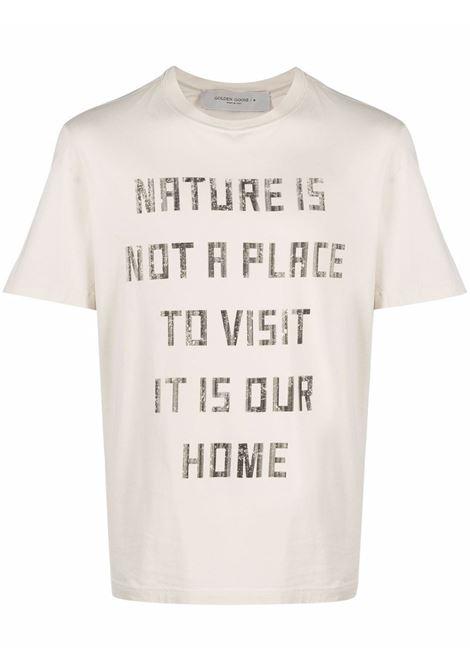 White t-shirt GOLDEN GOOSE   GMP01004P00018710825