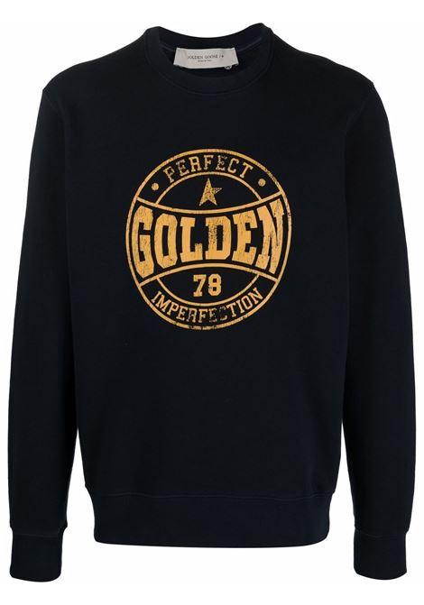 Felpa blu GOLDEN GOOSE | FELPE | GMP01012P00020750648