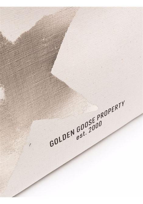 Borsa bianco/nera GOLDEN GOOSE | SHOPPERS | GWA00172A00031010272