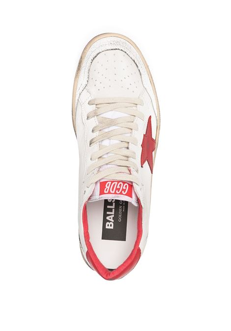 Sneakers bianco/rosso GOLDEN GOOSE | SNEAKERS | GWF00117F00032510275