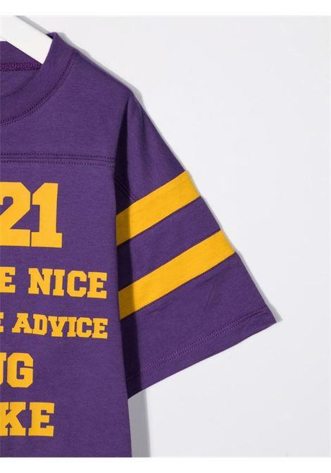 T-shirt viola GUCCI KIDS | 661143XJDME5404