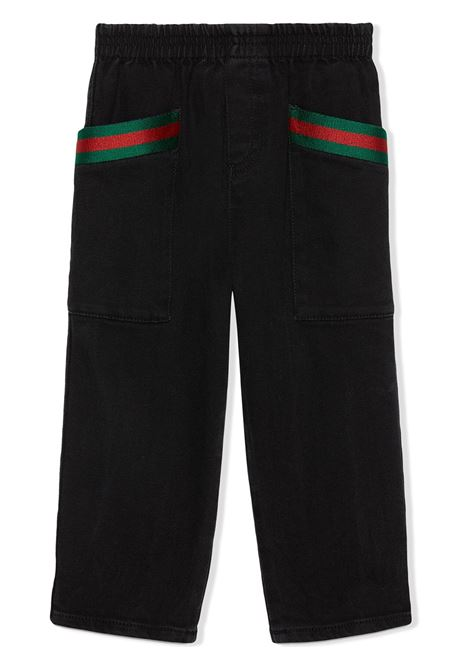 Pantalone GUCCI KIDS | 662114XDBPW1043