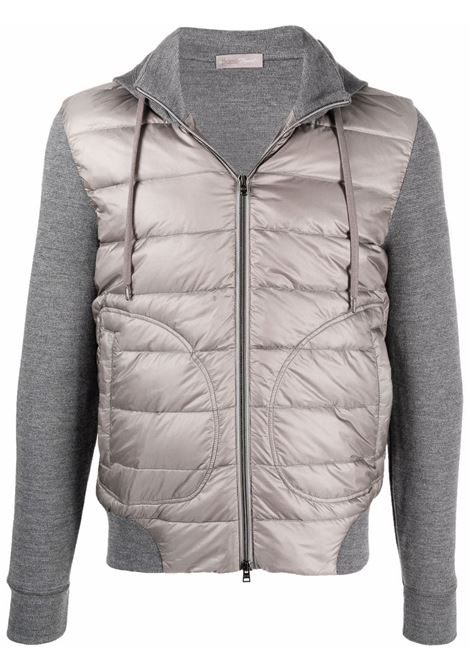 Grey padded jacket HERNO   JP003UR500259406
